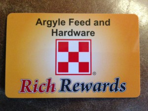 Save big at Argyle Feed Store with our Rich Rewards ...