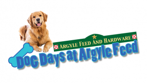 Argyle Feed Dog Days