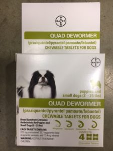 Quad Dog Dewormer