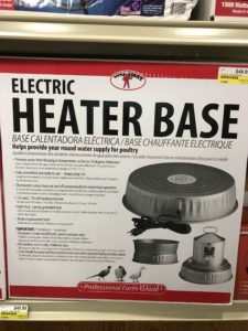 Electric Heater Base for Poulty Waterers