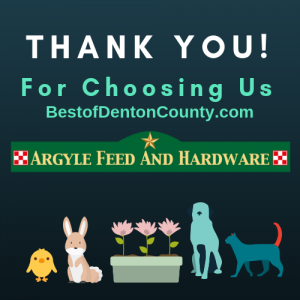 Best of Denton County Feed and Hardware Store