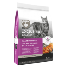 Exclusive Signature All Life Stages Cat Chicken & Brown Rice Formula Cat Food