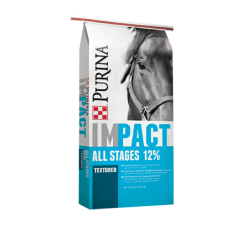 Purina Impact 12% All Stages Textured Horse Feed