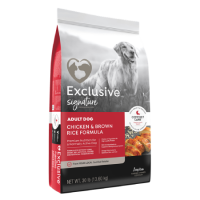 Exclusive Signature Adult Dog Chicken & Brown Rice Formula