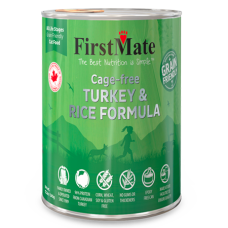 FirstMate Cage-free Turkey & Rice Formula Canned Cat Food