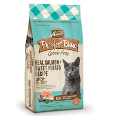 Merrick Purrfect Bistro Grain-Free Real Salmon + Sweet Potato Recipe Adult Dry Cat Food