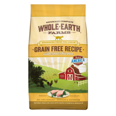 Whole Earth Farms Grain-Free Real Chicken Recipe Dry Cat Food