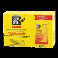 Farnam Just One Bite Rat & Mouse Bars. Bright yellow box.