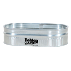 Behlen Galvanized 214 Round End Stock Tank – 44 gallon