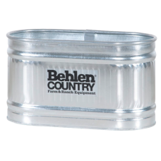 Behlen Galvanized 224 Round End Stock Tank – 103 gallon