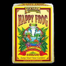 FoxFarm Happy Frog Soil Conditioner in yellow bag.