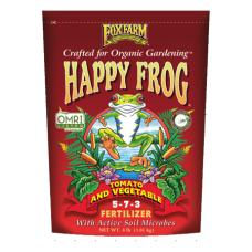 Happy Frog Tomato & Vegetable Fertilizer-FoxFarm-14370-Fertilizer | Argyle Feed Store