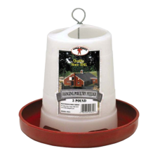 Little Giant 3lb Plastic Hanging Poultry Feeder