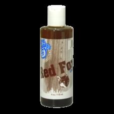 Pete Rickard's Red Fox Urine in brown bottle.