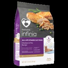 Infinia Chicken & Pea Recipe Dry Cat Food