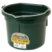 Little Giant 8 Quart Flat Back Plastic Bucket - Black