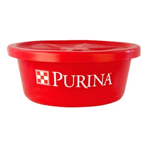 Red Purina Tub