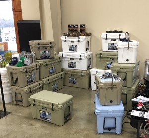 Yeti Coolers at Argyle Feed Store