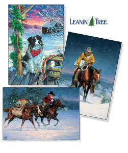 Leanin Tree Christmas Cards.Leanin Tree Christmas Cards Now At Argyle Feed Hardware