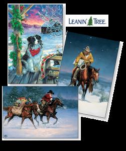 Leanin' Tree Christmas Cards - Argyle Feed