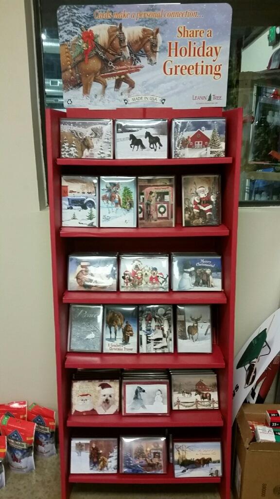 Leanin\' Tree Christmas Cards Now at Argyle Feed & Hardware :: Argyle ...