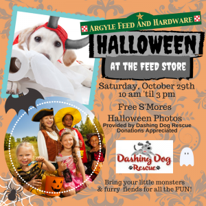 Halloween at the Feed Store