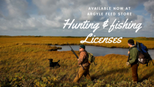 2019-2020 Hunting Fishing Licenses Available