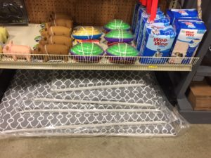 Dog beds and toys