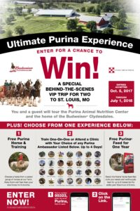 Ultimate Purina Experience: Enter to Win!