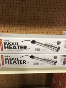 Bucket Heater