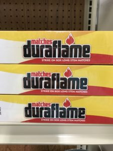Duraflame Safety Matches