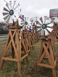 decorative windmills
