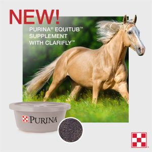 Purina EquiTub Supplement with ClariFly